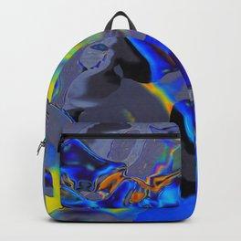 Oil Glitch Backpack