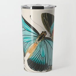Butterfly Print by E.A. Seguy, 1925 #2 Travel Mug