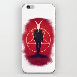 Devil Man iPhone Skin