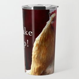 Wake Up! Rooster Travel Mug