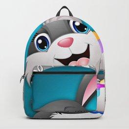 Illustration celebration easter Backpack