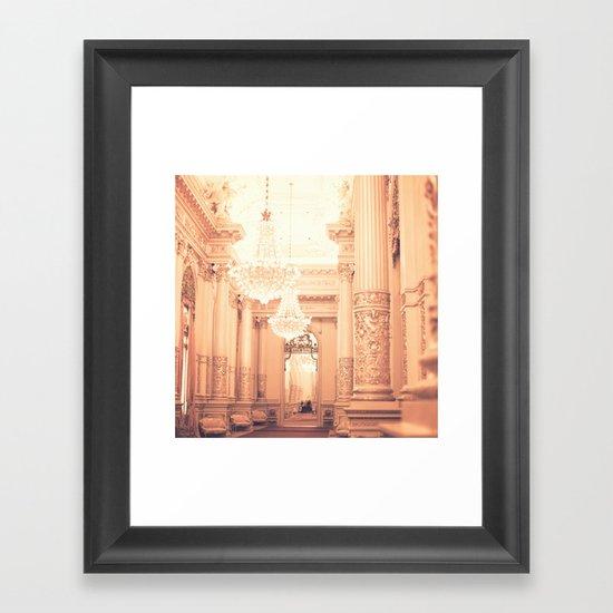 The Golden Room II Framed Art Print