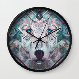 Moon Watcher Wall Clock