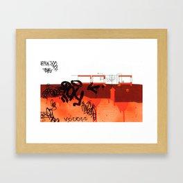 Detroit series 4 Framed Art Print