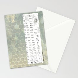 Stages of the Honey Bee Stationery Cards