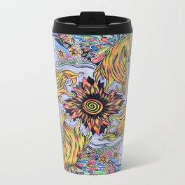 Unicorn Splash Metal Travel Mug
