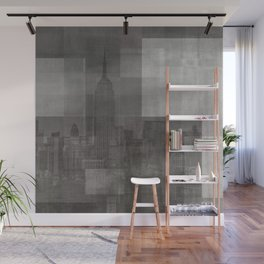 New York No. 3 | The Empire State Building + Skyline Wall Mural