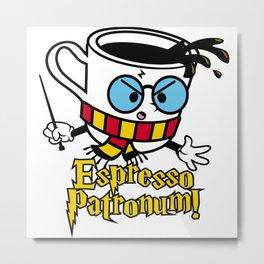 Espresso Patronum! Metal Print