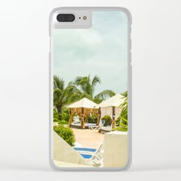 Santa Maria Cabana Clear iPhone Case