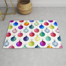 Merry Colorful Xmas Rug