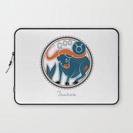 Taurus Zodiac Sign Laptop Sleeve