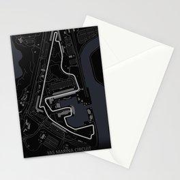 Yas Marina Circuit, Abu Dhabi Grand Prix Stationery Cards