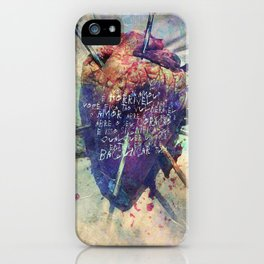 Damaged Heart iPhone Case
