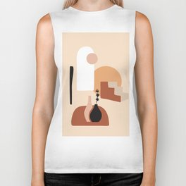 Abstract Elements 18 Biker Tank