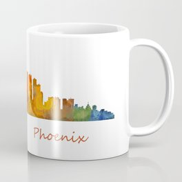 Phoenix Arizona, City Skyline Cityscape Hq v1 Coffee Mug