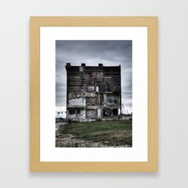 Old Run Down Building In St. Louis City Framed Art Print
