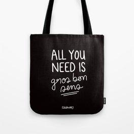 Gros Bon Sens - White Tote Bag