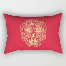 Duckface Skull Rectangular Pillow