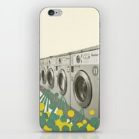 waterfall iPhone & iPod Skins featuring Waterfall by Cassia Beck