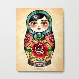 Matryoshka Metal Print