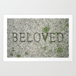 BELOVED Art Print