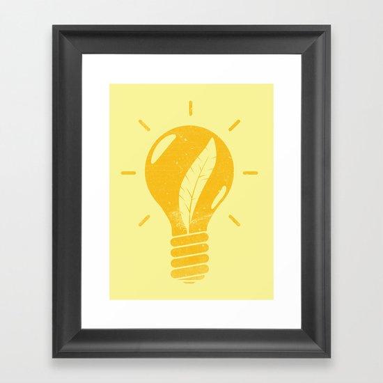 Light as a Feather Framed Art Print