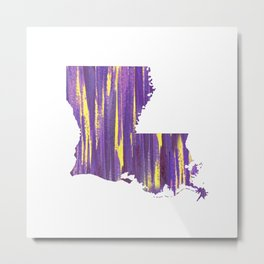 Geaux Louisiana Metal Print