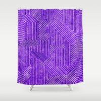 alien Shower Curtains featuring Alien by Elektronen