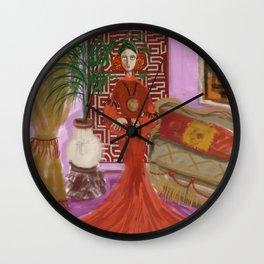"""MARUSHKA, HOME ON TUESDAY EVENING"" Wall Clock"