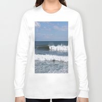 surfer Long Sleeve T-shirts featuring Surfer by moonstarsunnj
