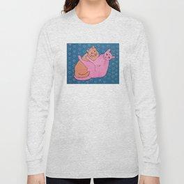 Cat Cuddles Long Sleeve T-shirt