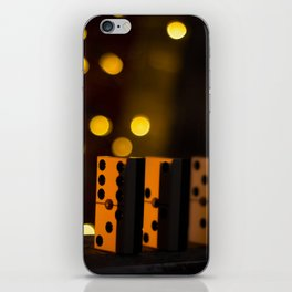 In way of dominoes iPhone Skin
