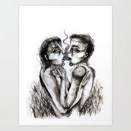 Dreams of Psychedelia Art Print
