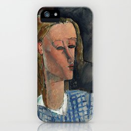 "Amedeo Modigliani ""Beatrice Hastings"", 1916 iPhone Case"