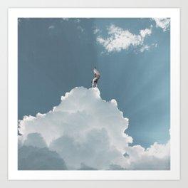 King of the Skies Art Print