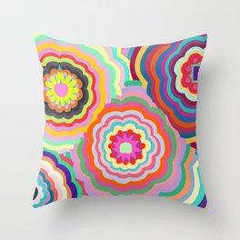Retro Candy Throw Pillow