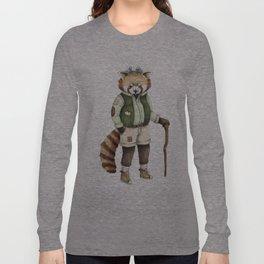Red Panda Ranger Long Sleeve T-shirt