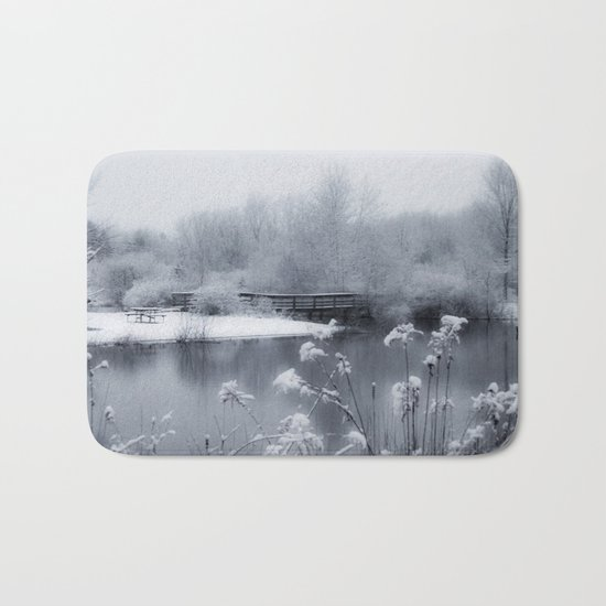 Winter Wonderland Bath Mat