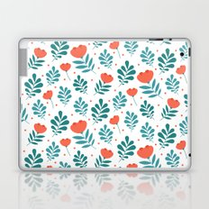 Floral Leaf Pattern Laptop & iPad Skin