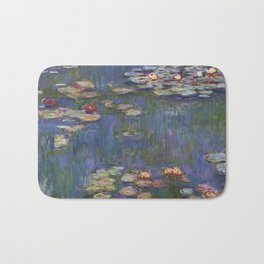 Water Lilies (Nymphéas), c.1916 Art, Monet Bath Mat
