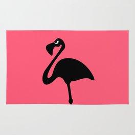 Angry Animals: Flamingo Rug