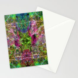 The Sultan's Subordinate (abstract, psychedelic) Stationery Cards