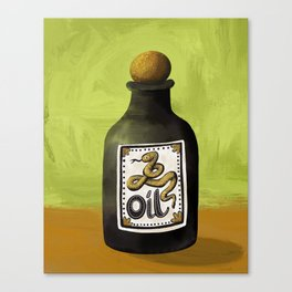 Snake Oil Canvas Print
