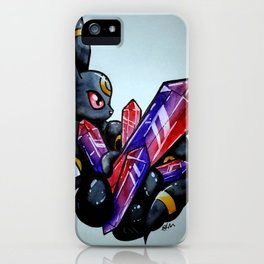 Crystal Obsession Umbreon iPhone Case