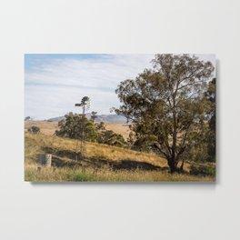 Swifts Creek Windmill  Metal Print