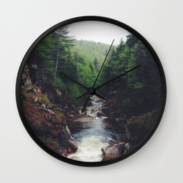 White Mountains New Hampshire Wall Clock