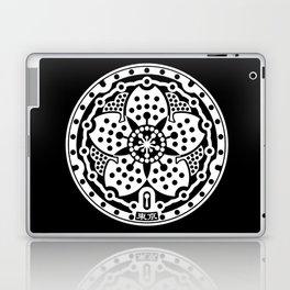 Tokyo Sakura Manhole Cover Laptop & iPad Skin
