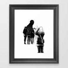 Be Still Framed Art Print