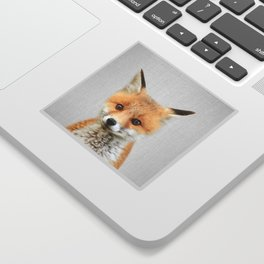 Baby Fox - Colorful Sticker