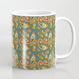Oriental Pattern Blue Coffee Mug
